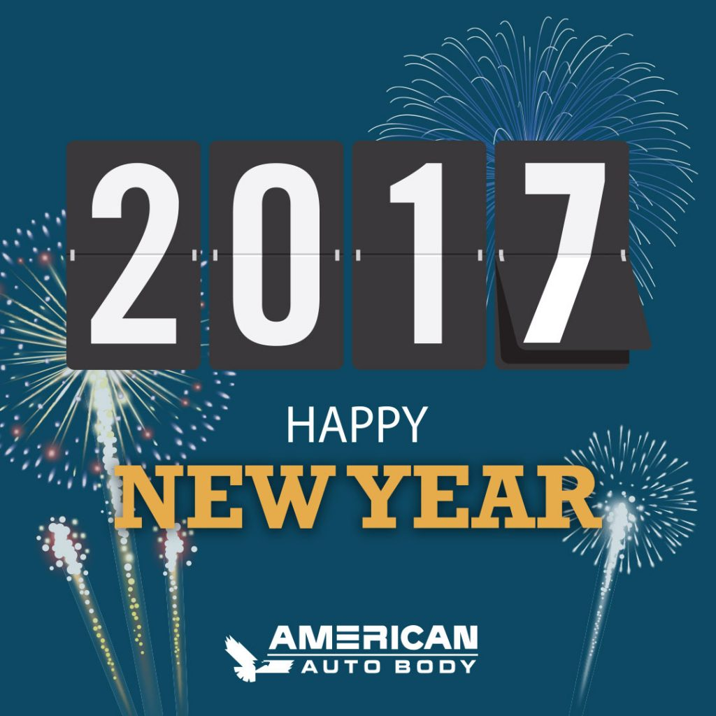 Happy New Year from American Auto Body