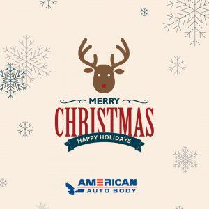 american auto body, merry christmas, happy holidays, 2016, minneapolis auto body shop, affordable auto body mn